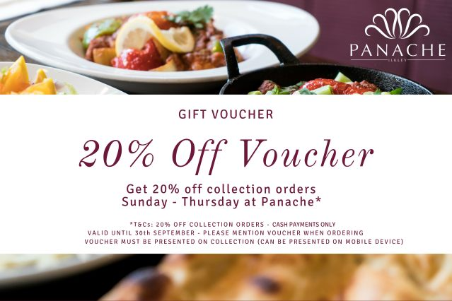 10th Anniversary 20% Off Voucher