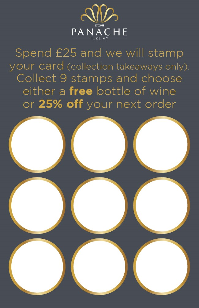 Our New Loyalty Card's!